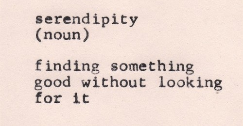 Week 7 CRJ: serendipity