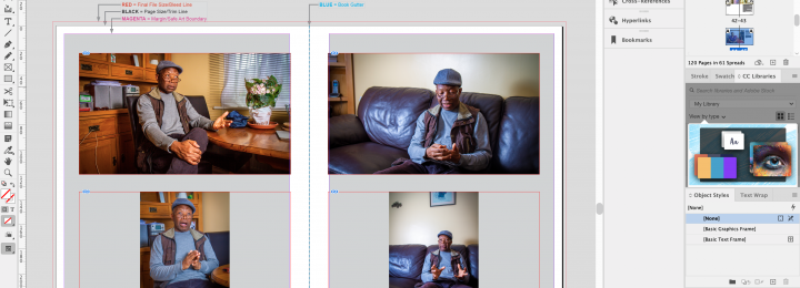 Final Major Project PHO705 Week 14: The Indesign Layout